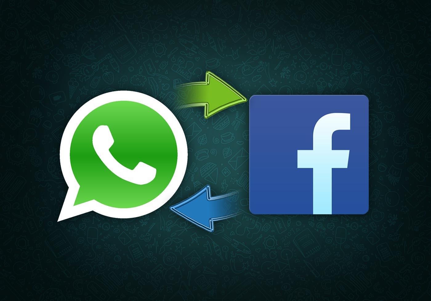 WhatsApp comparte facebook