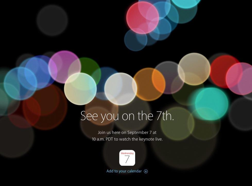 iPhone 7 anuncio