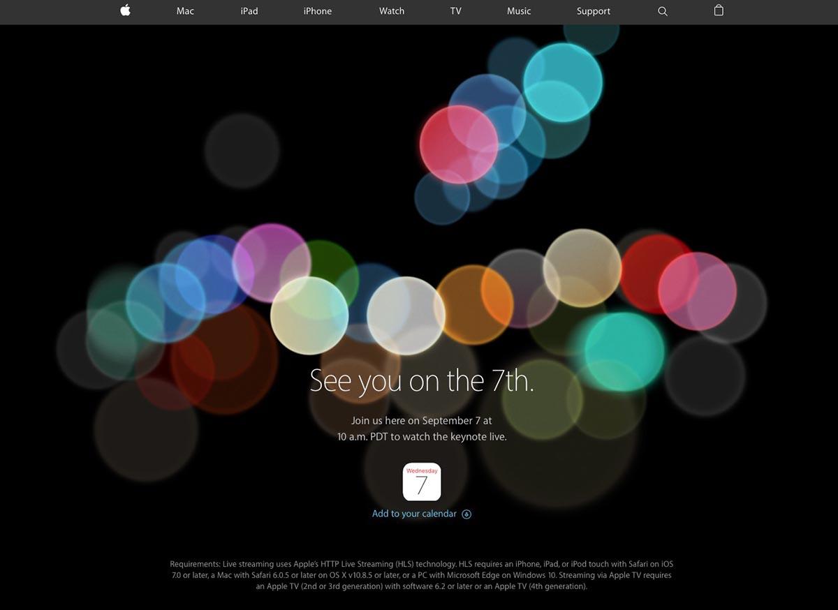 iPhone 7 setreaming