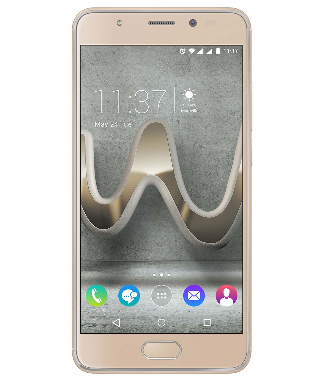 wiko_u-feel-prime_gold_front