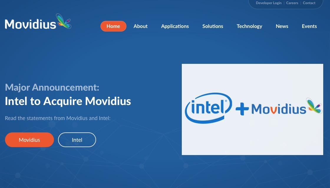 Intel + Movidius