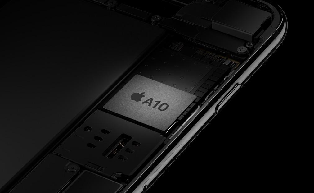 Interior del iPhone 7