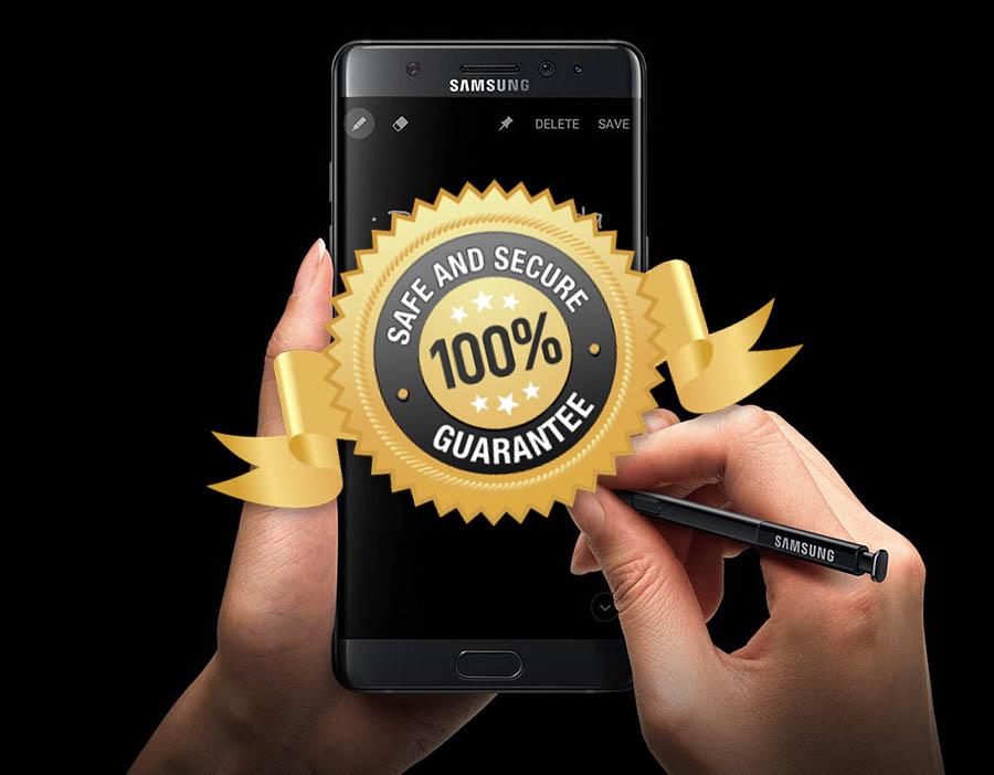 Los Galaxy Note 7 volverán con batería de 3.200 mAh a algunos mercados