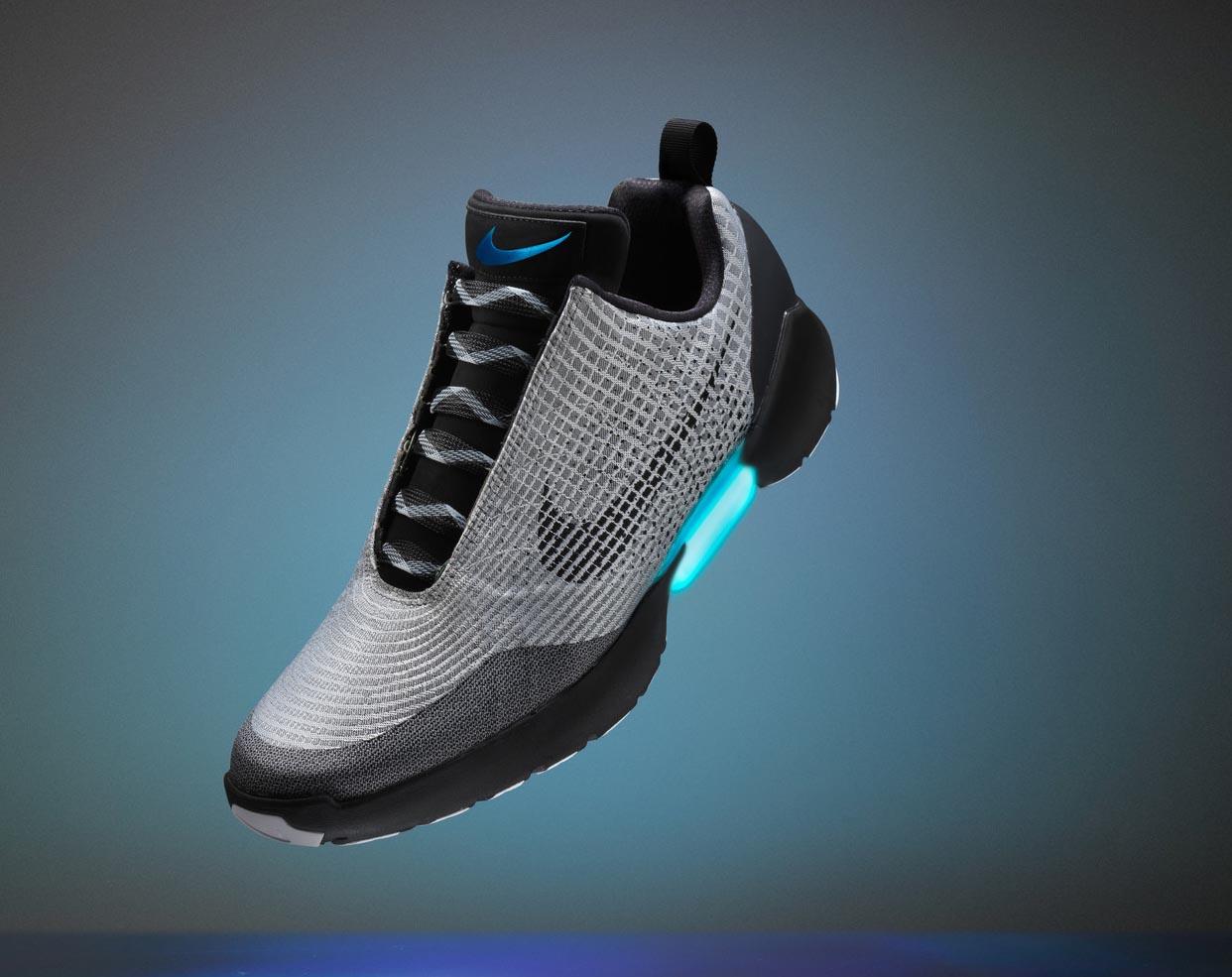 Nike de HyperAdaptAsí son las zapatillas de Nike Regreso al Futuro 322250