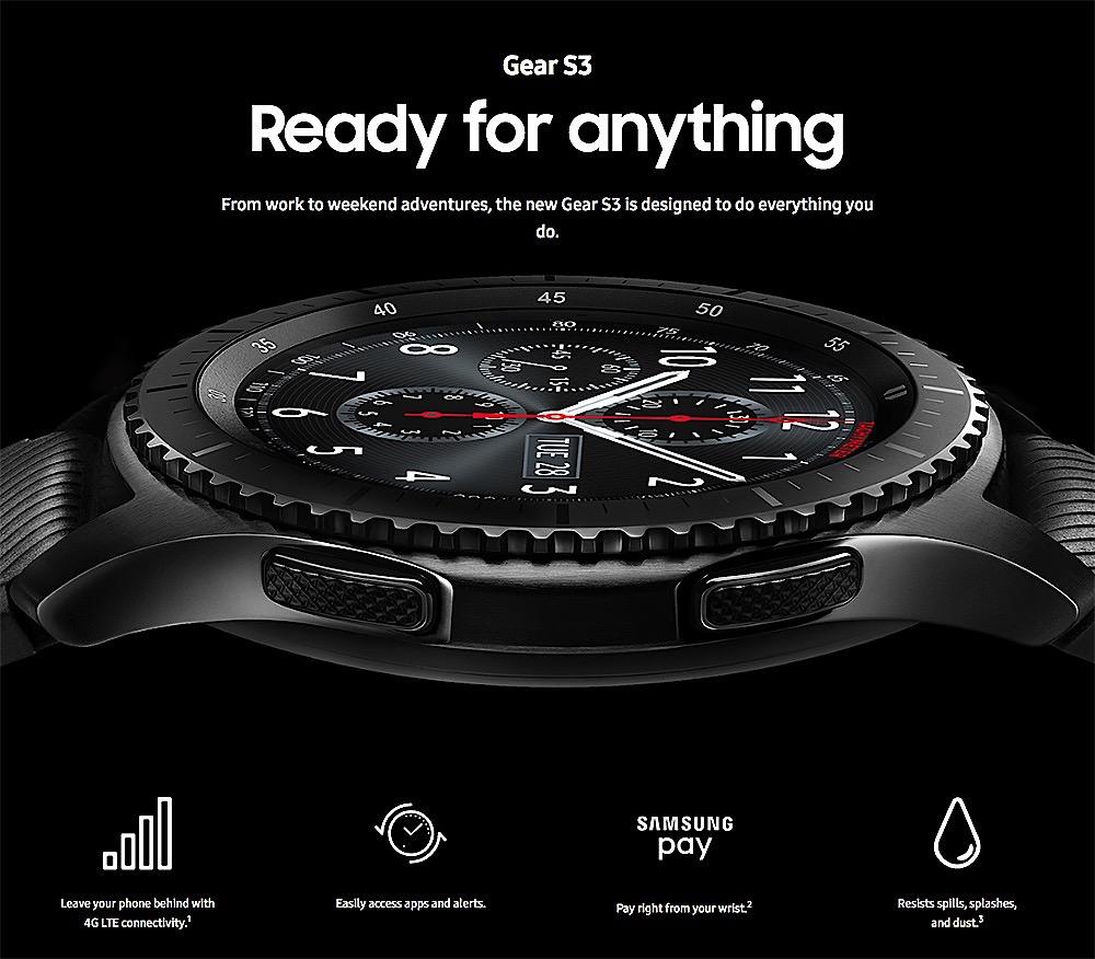 El Samsung Gear S3 se renovará en breve en la feria IFA de Berlín