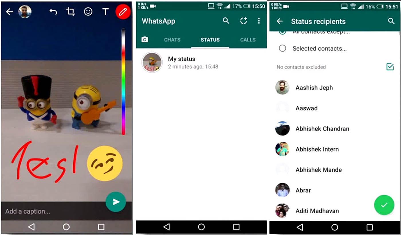 Whatsapp Status Una Copia De Snapchat