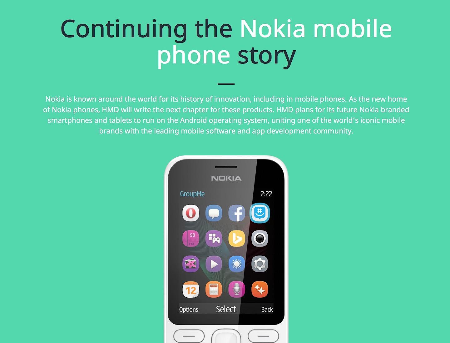 Nokia regresa a los móviles Android