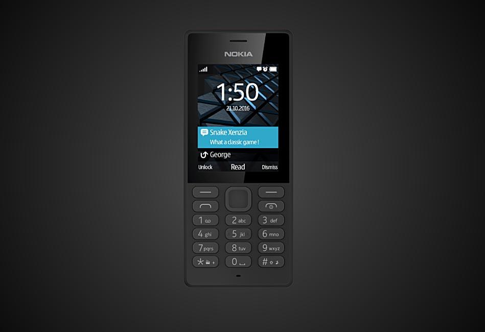 """Nokia 150, el primer móvil de la """"nueva Nokia"""" con HMD Global"""