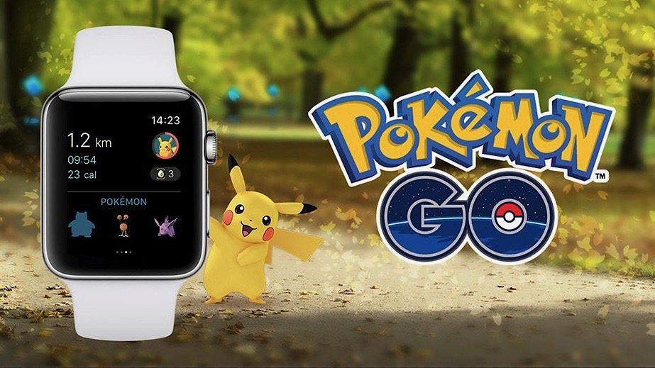 Spotify, Pokemmon GO, Apple Watch, Samsung Gear 3