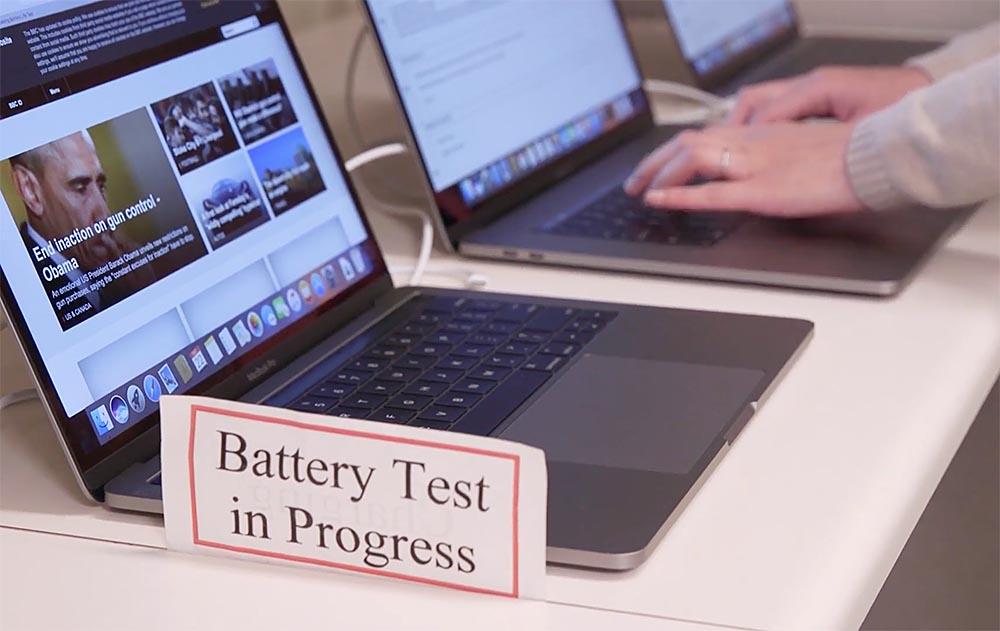 Pruebas de autonomía de Consumer reports del MacBook Pro