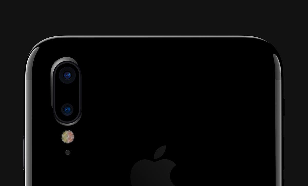 Cámara vertical del iPhone 8