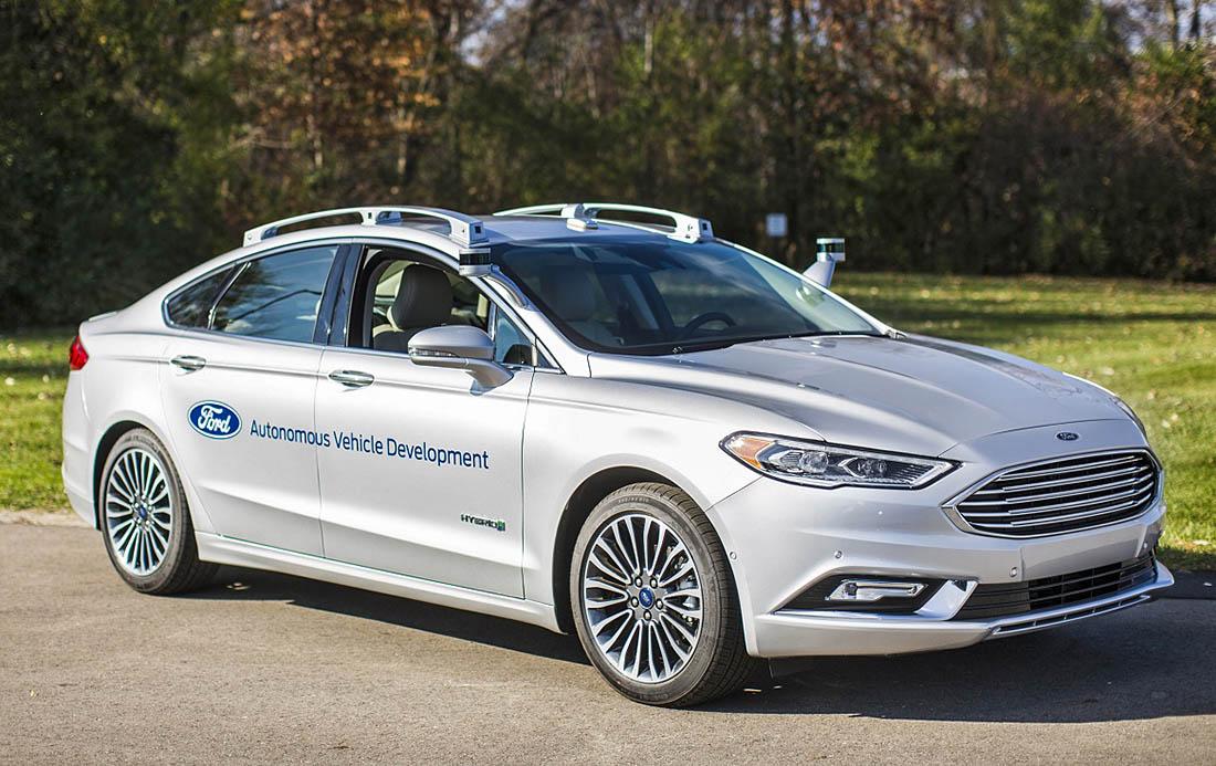 156- Nueva Generacion coche Autonomo Ford 1