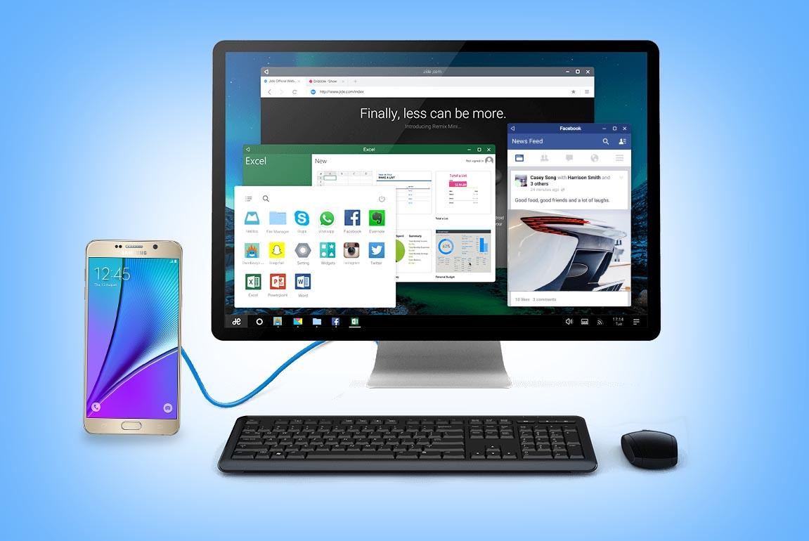 Samsung Galaxy Convergencia remix OS