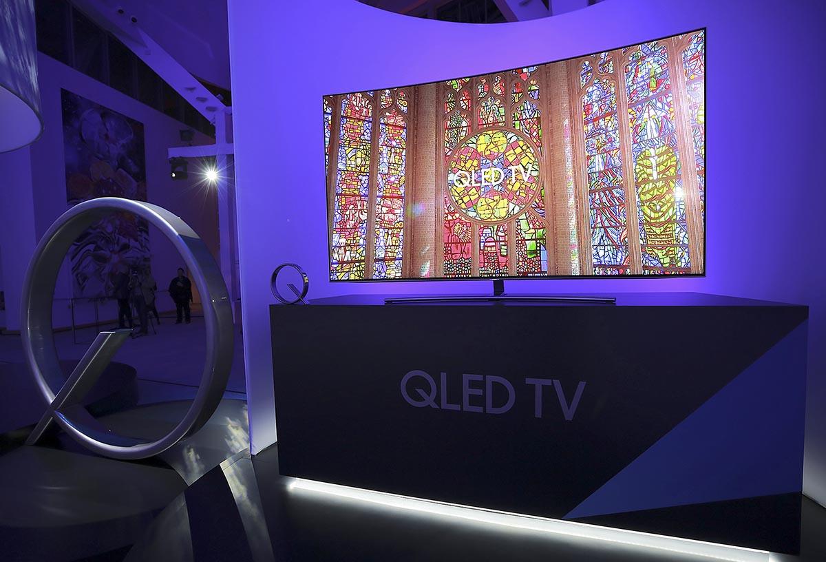 Samsung presenta sus nuevos televisores QLED