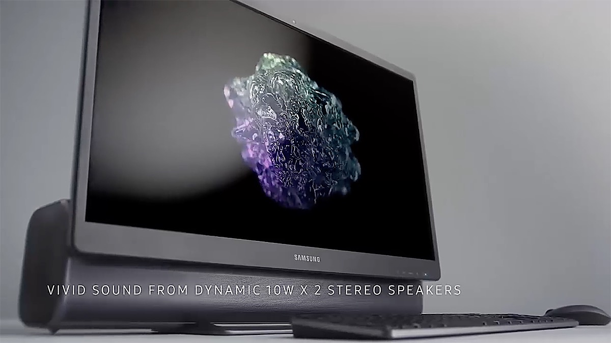 Samsung PC todo en uno barra sonido