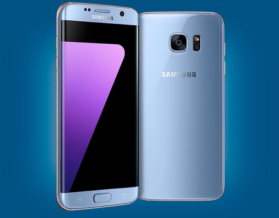 Accesorios Samsung Galaxy S7 Blue coral