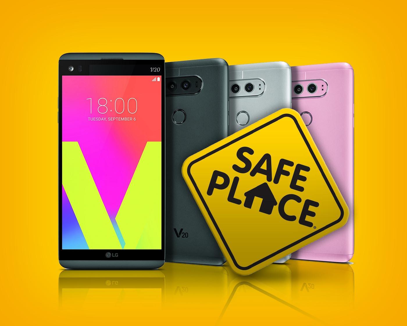 LG V20 seguro