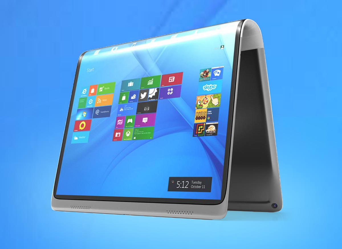 Tableta plegable Microsoft