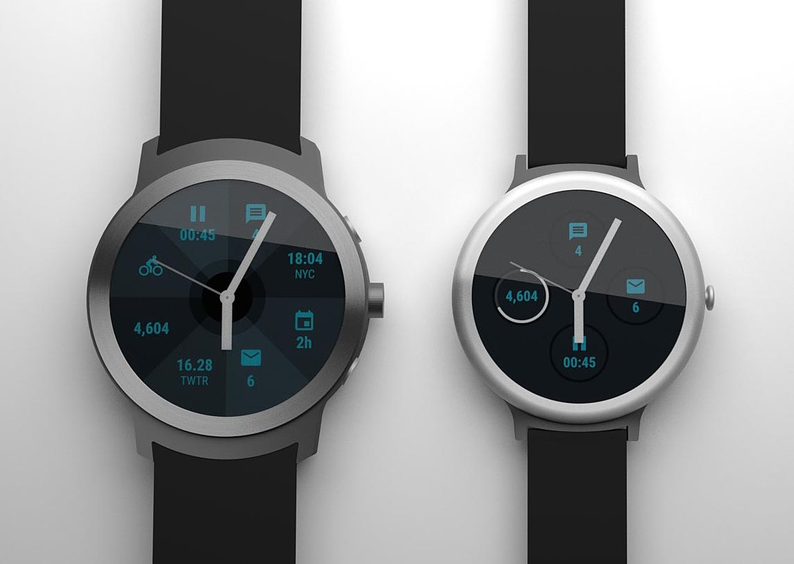 Relojes Google y LG Android Wear 2