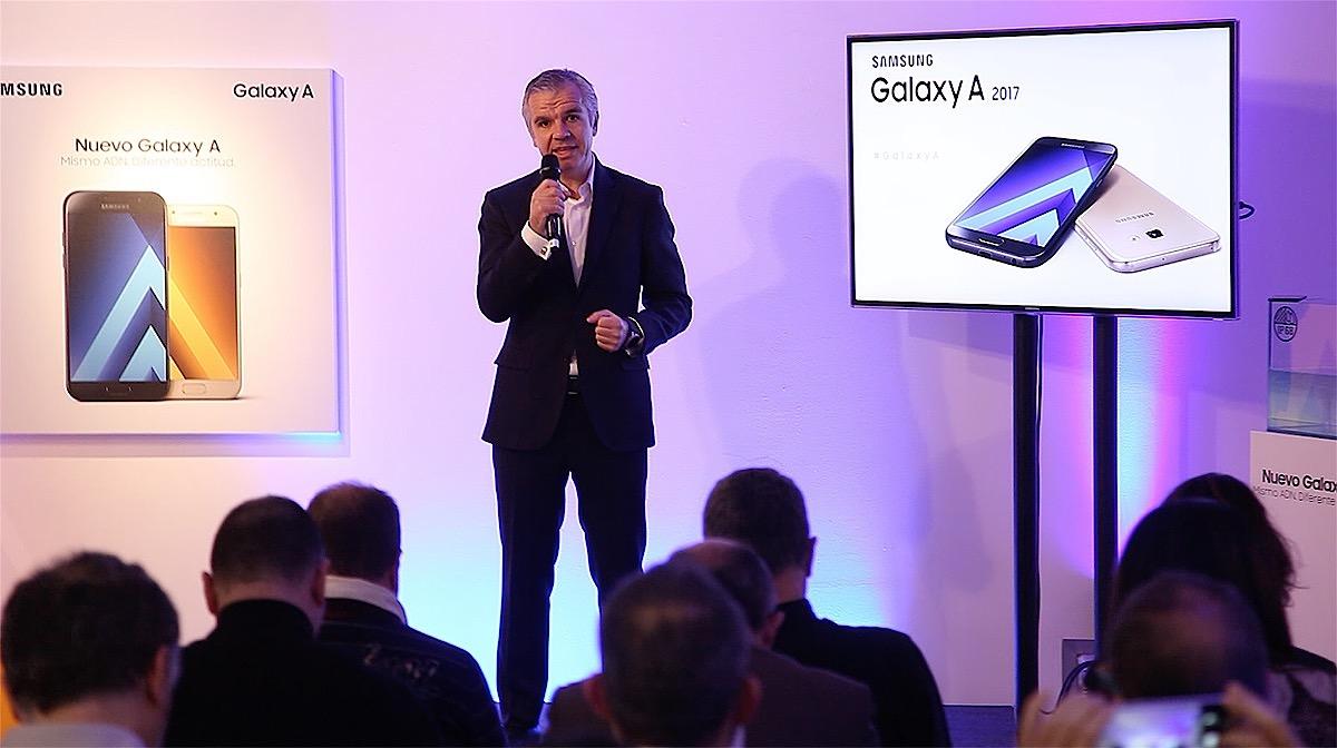 Celestino García VP Samsung España presenta los Galaxy A