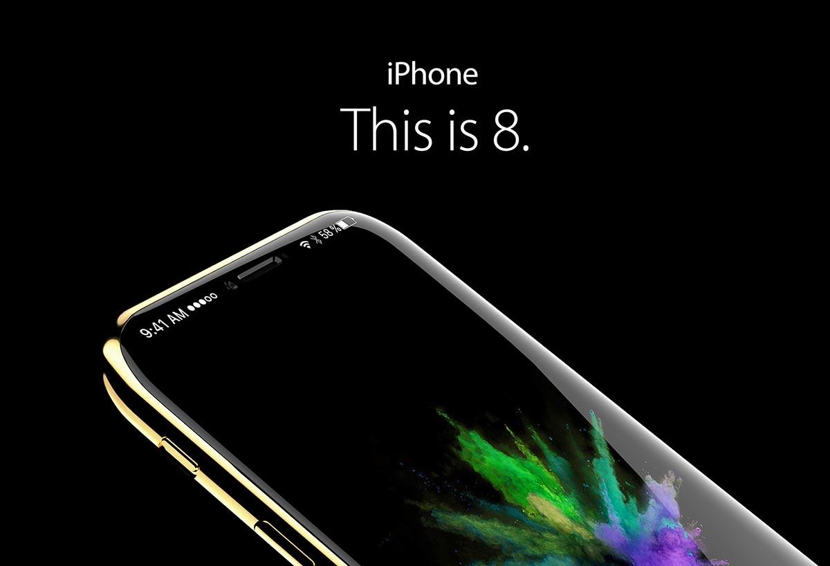 iPhone 8 recreacion enero 2017