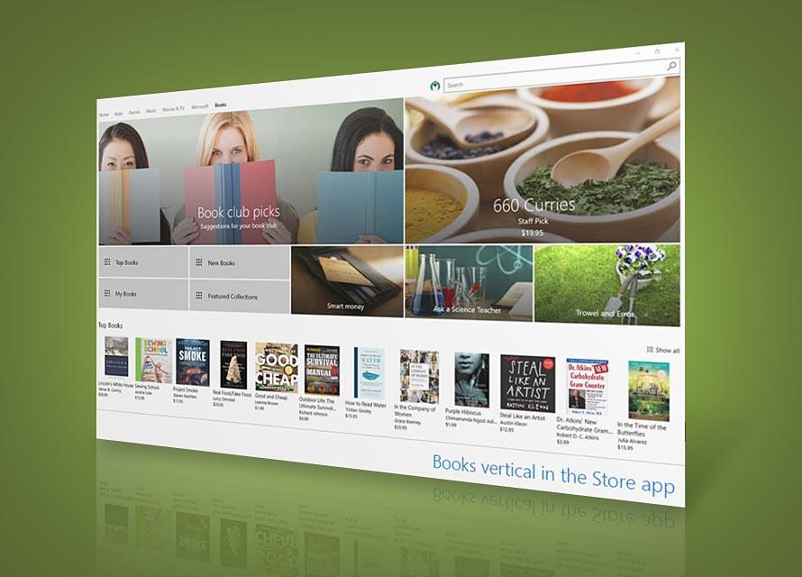 Libros Windows 10 apertura