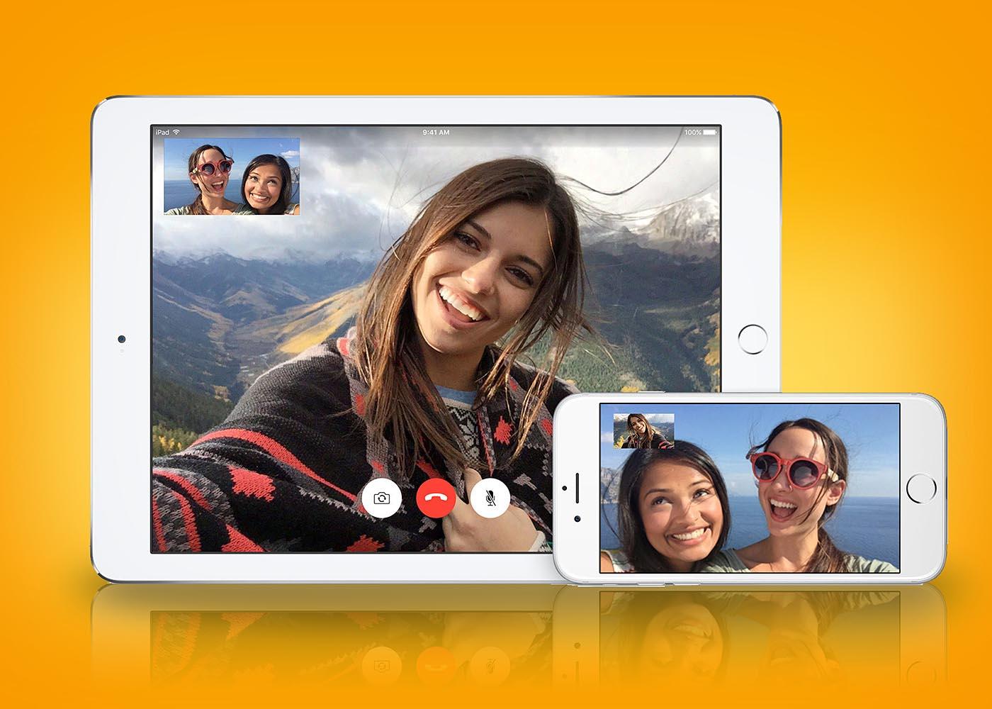 FaceTime permite llamadas de video en iOS y ordenadores