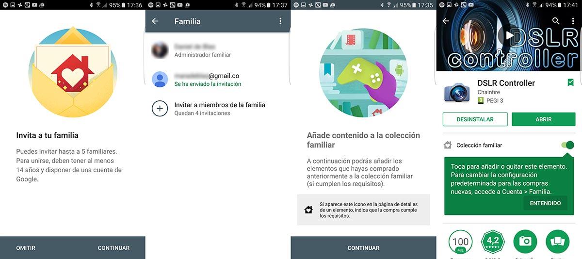 Plan Familiar Google Play 2