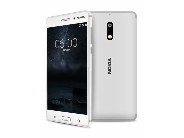 El nuevo Nokia 6 en color blanco
