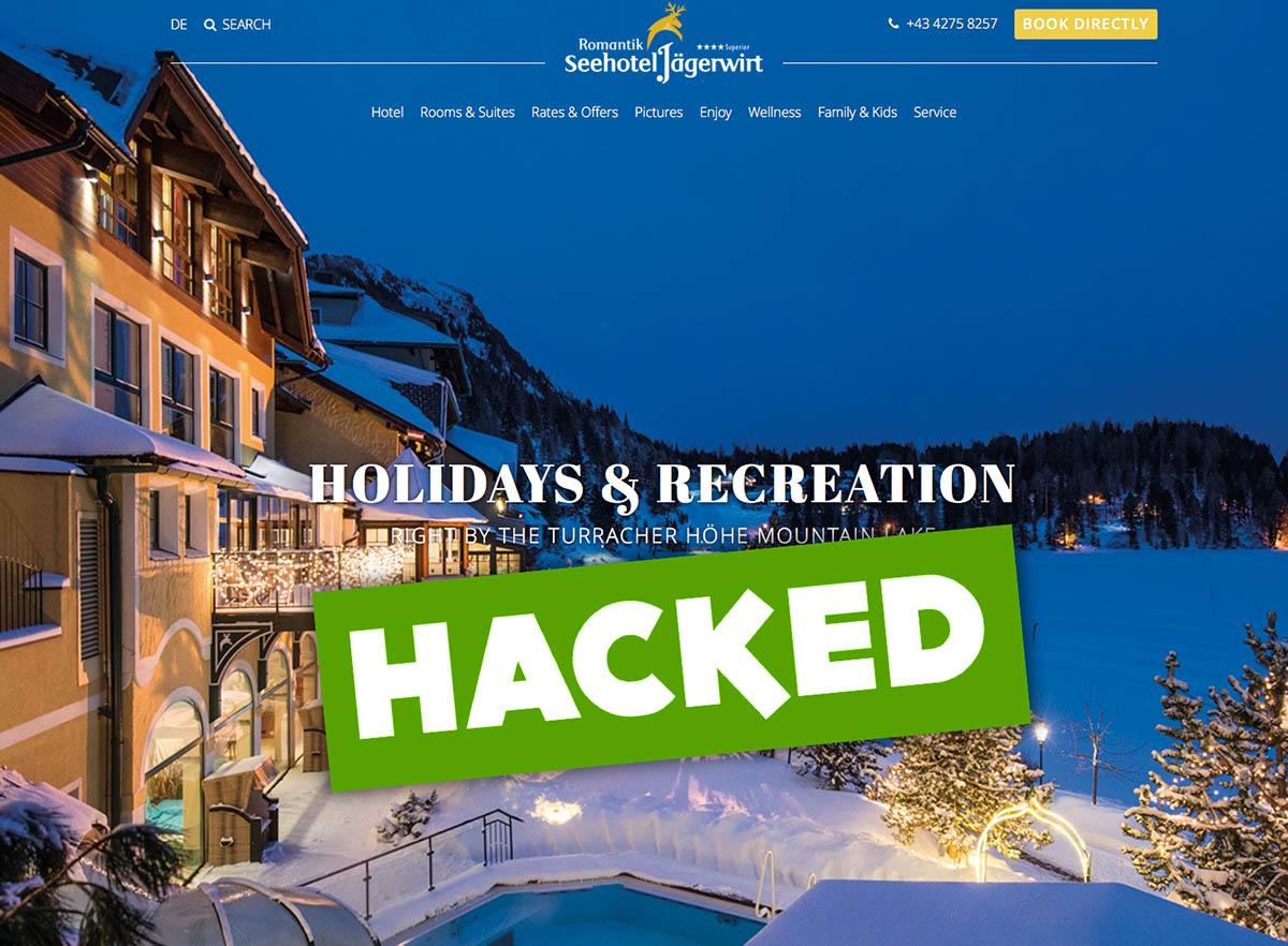 Hotel atacado por ciberdelincuentes