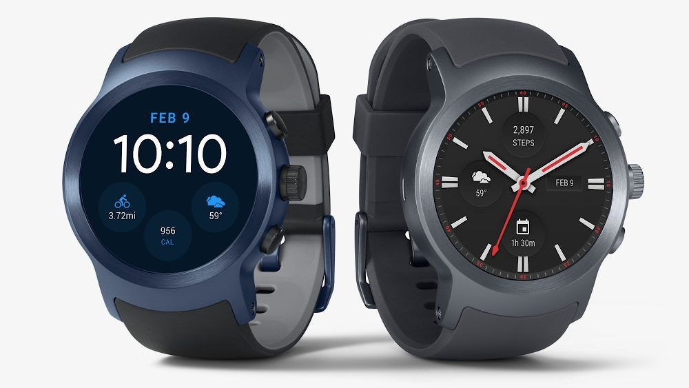 LG Watch Style Sport Android Wear 2.0