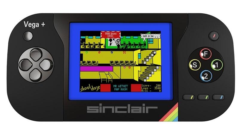 El Sinclair ZX Spectrum revive en la consola portátil Spectrum Vega Plus