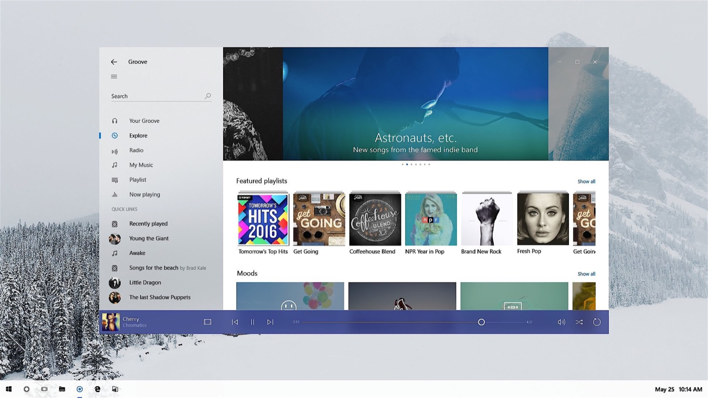 Windows 10, así será su nuevo diseño con Project Neon