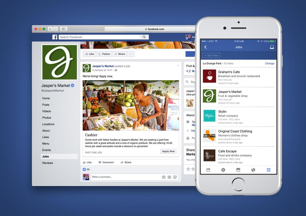 Ofertas empleo Facebook