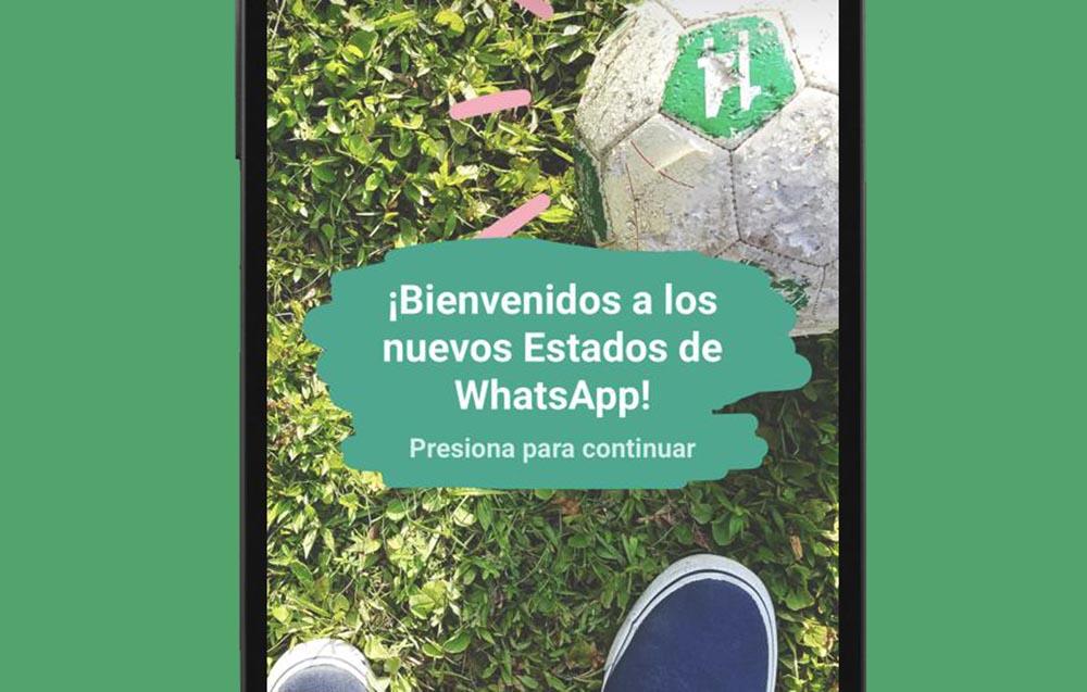 Estados WhatsApp detalle