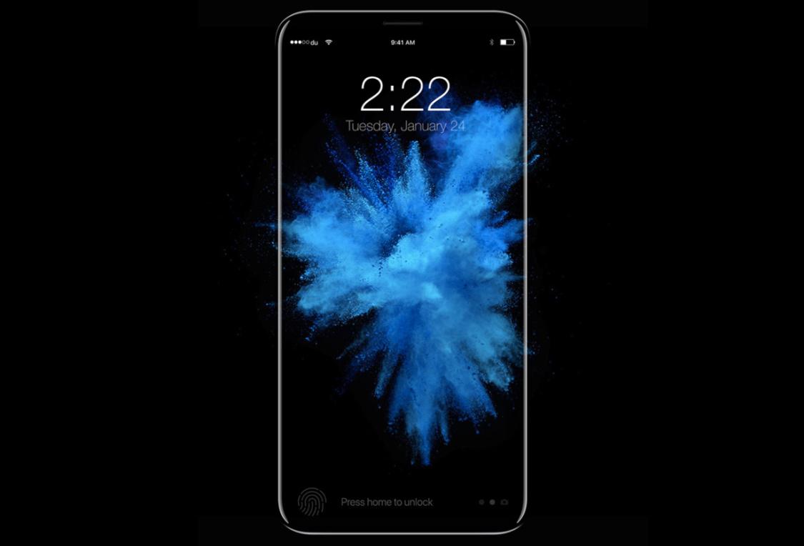Recreación del posible aspecto del iPhone 8 de Apple
