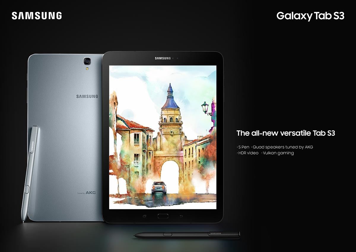 La nueva Galaxy Tab S3