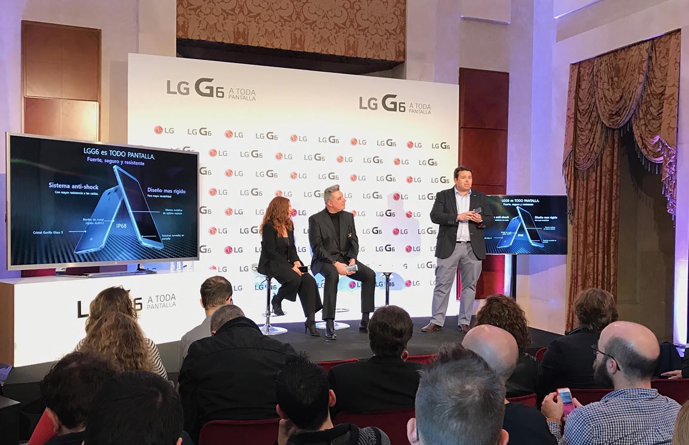 El LG G6 se presenta en España
