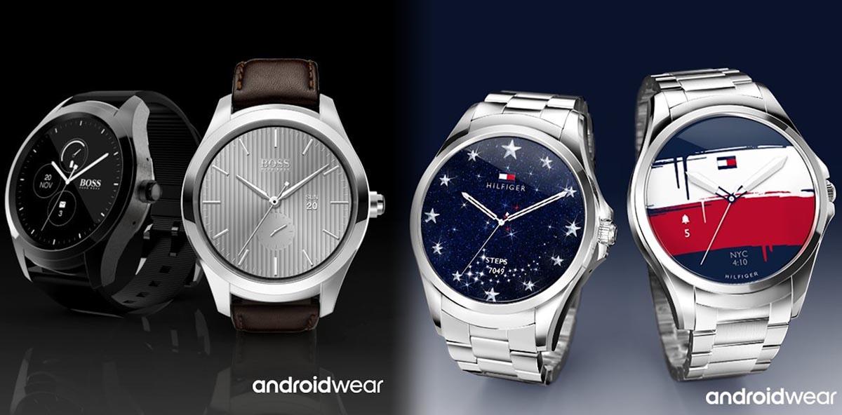 Los nuevos relojes inteligentes de Hugo Boss Tommy Hilfiger