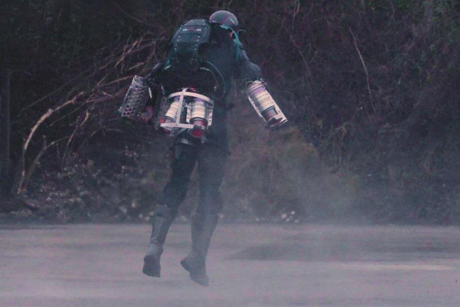 Daedalus, el traje volador de Iron Man