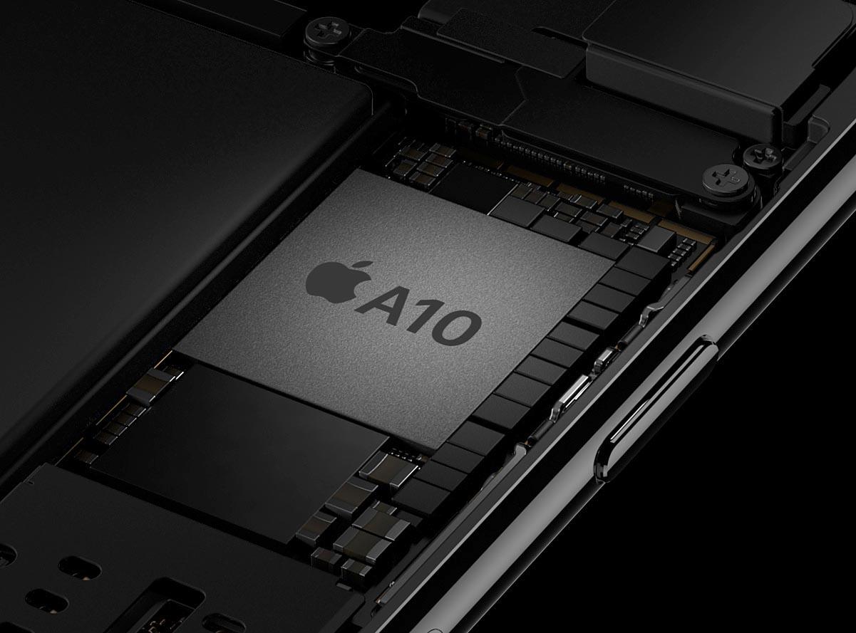 El chipset A10 Fusion de Apple es el corazón del iPhone 7