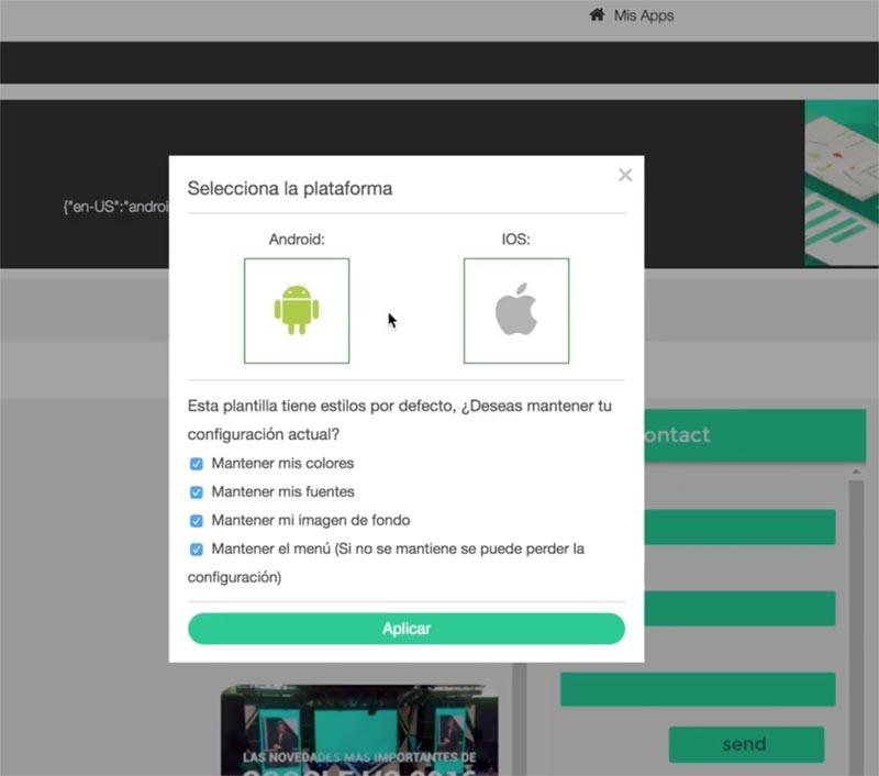 King of App, el modo más fácil y a tu alcance de crear una app móvil