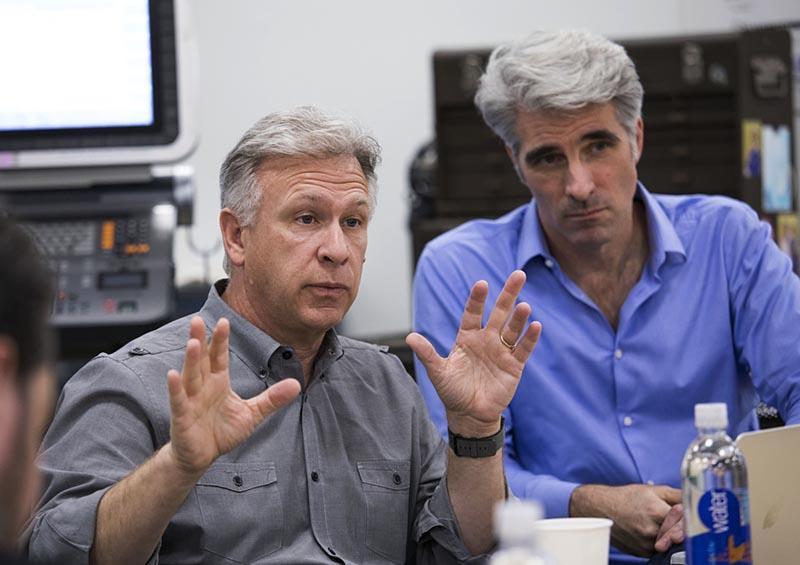 Mac Pro: Phil Schiller y Craig Federighi
