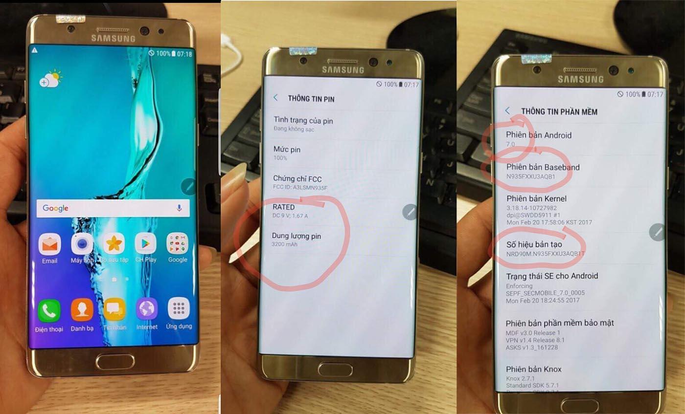 Los Samsung Galaxy Note 7 reacondicionados llegarán con batería de 3.200 mAh