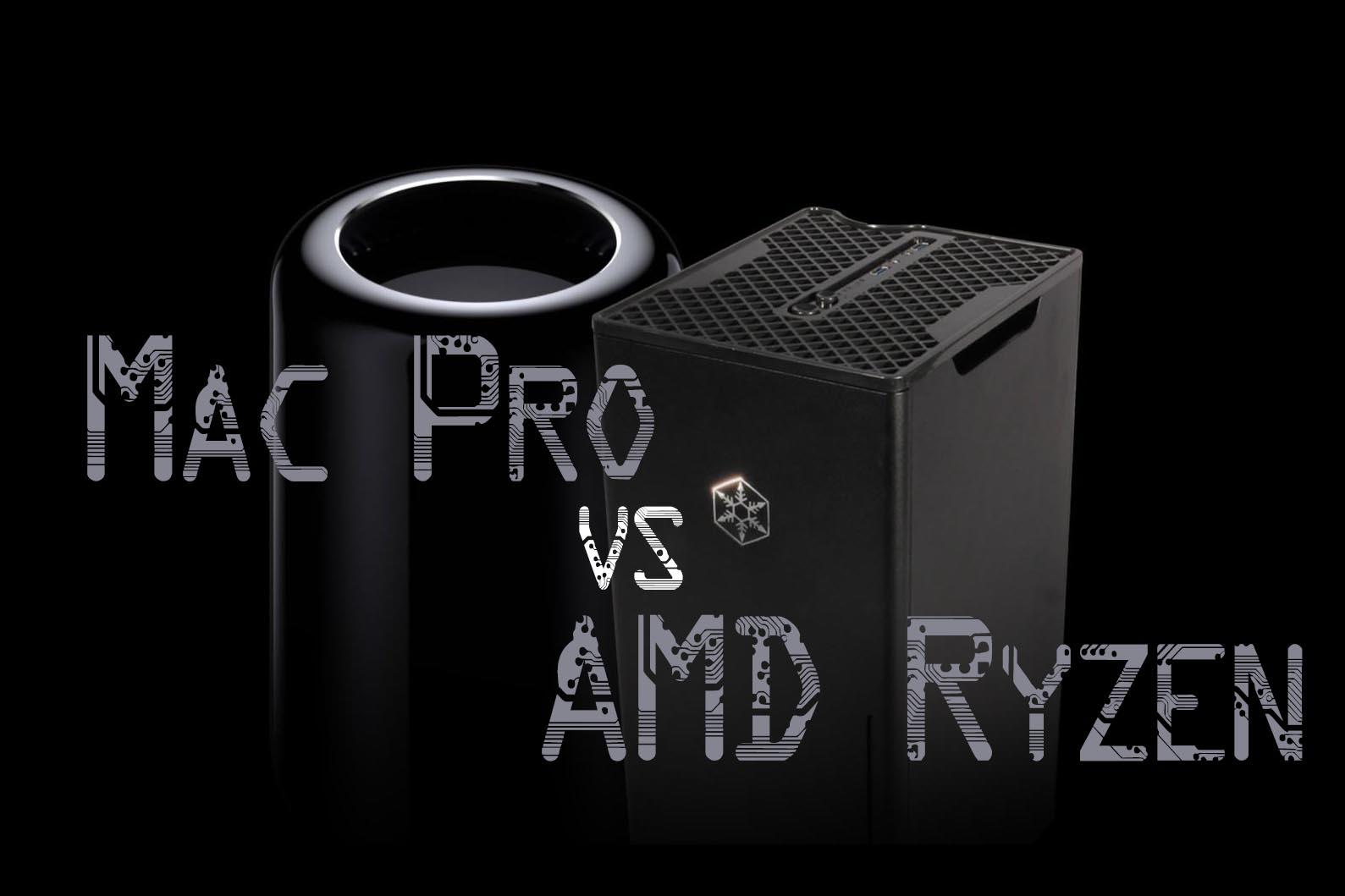 Mac Pro VS PC AMD Ryzen