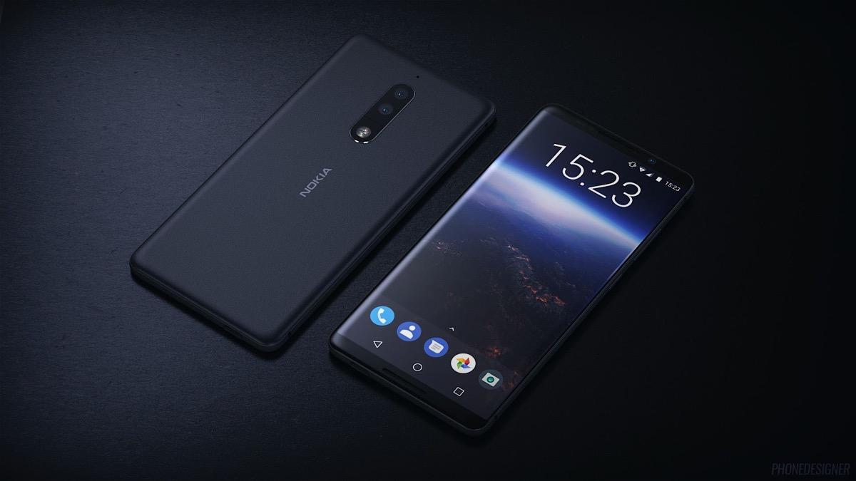 Nokia 9 recreación