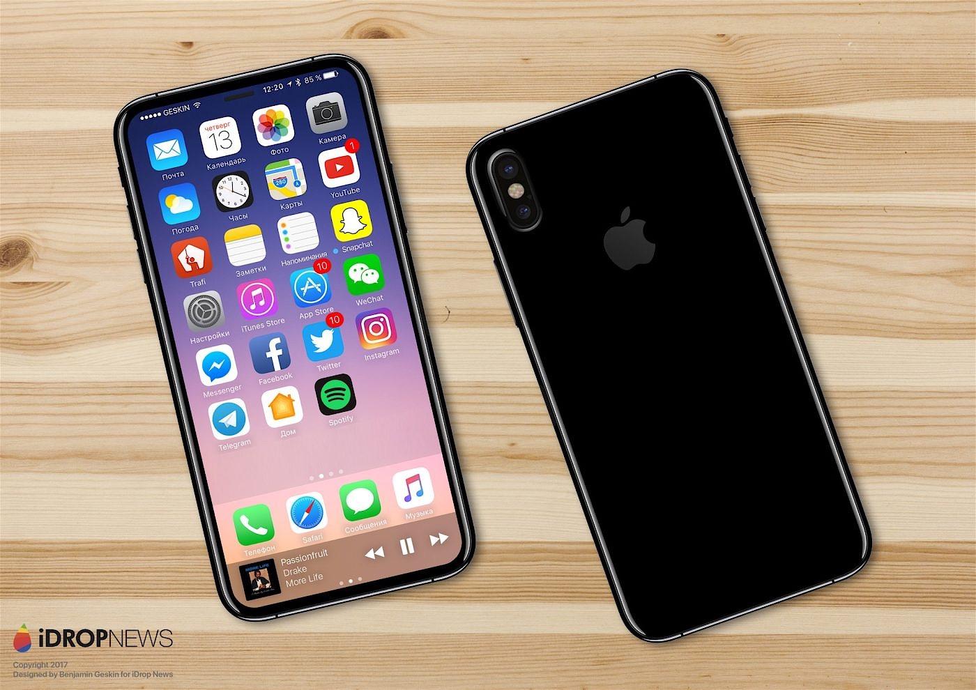 Recreación del iPhone 8