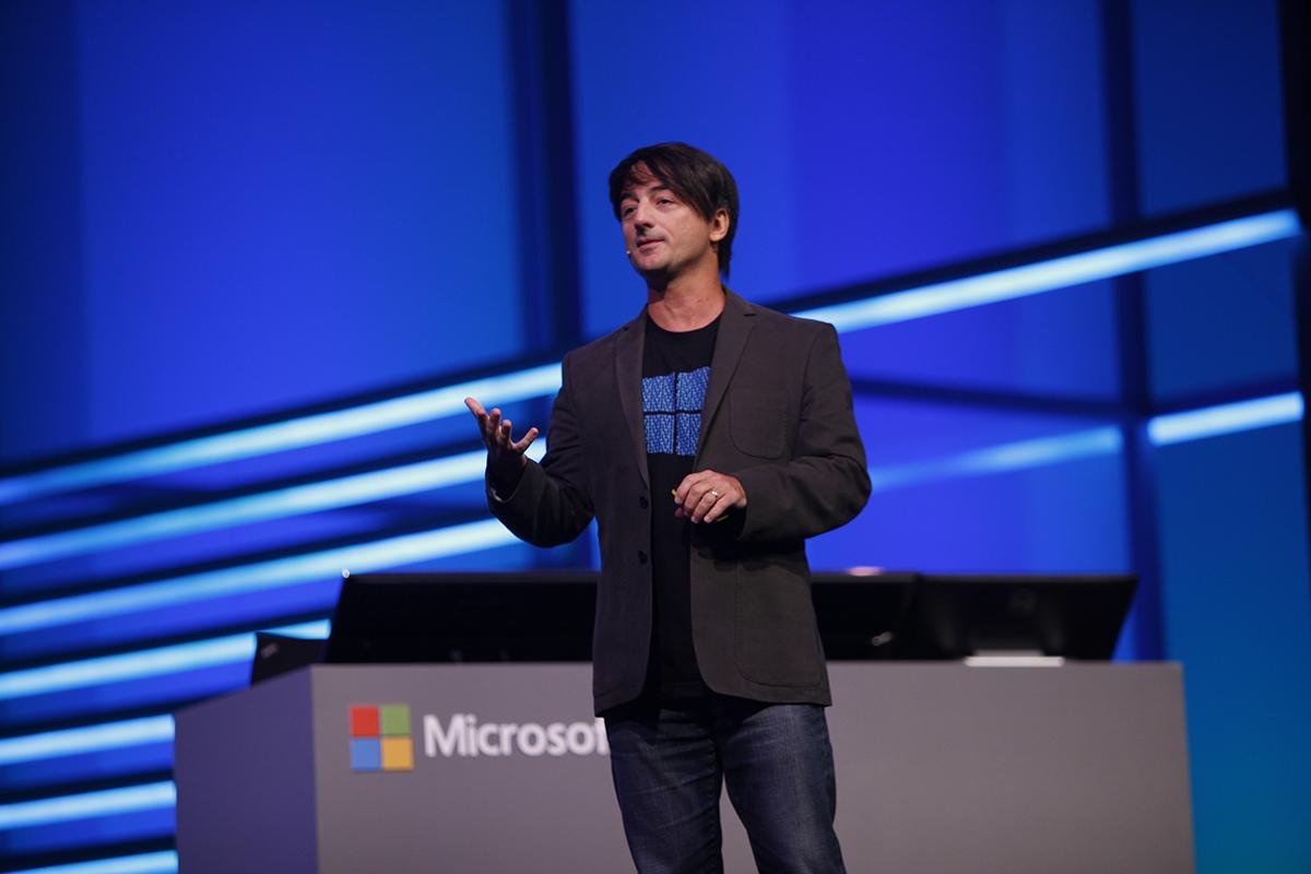 Joe Belfiore vicepresidente corporativo de sistemas operativos en Microsoft