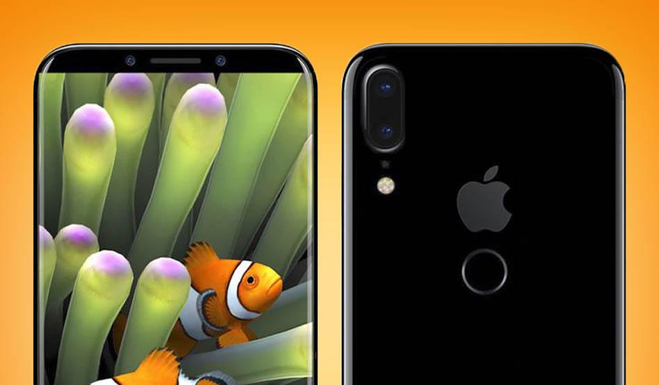 El iPhone 8 podría llevar el lector de huella en la parte trasera