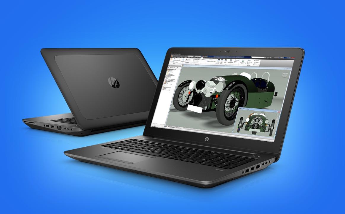 HP Zbook 15 y 17